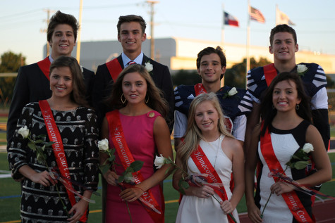 Senior Homecoming Court 2015 slideshow