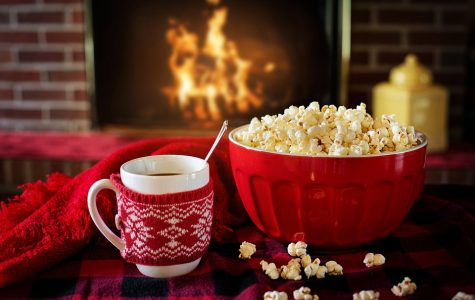 Christmas movies and some snacks to share